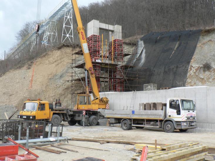Výstavba ŽB objektov