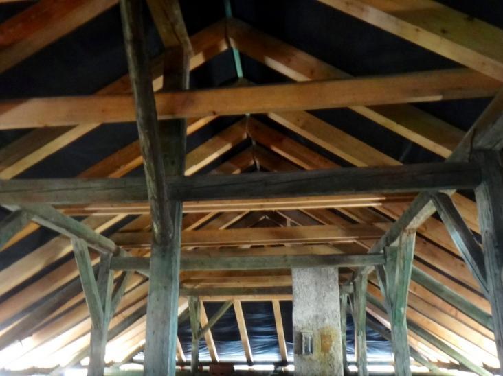 Komunitné centrum JASOV výmena prvkov krovu