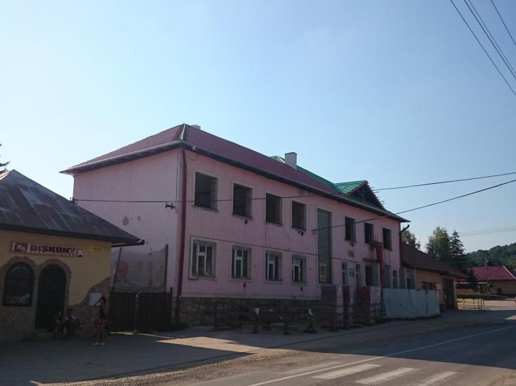 Komunitné centrum JASOV pôvodná fasáda
