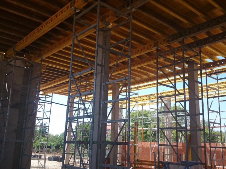 Stavba TIOP Moldava nad Bodvou