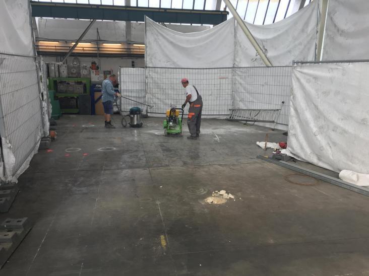 rezanie betónovej podlahy